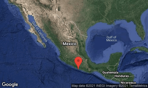 Se registra sismo de 7.1 con epicentro en Gro
