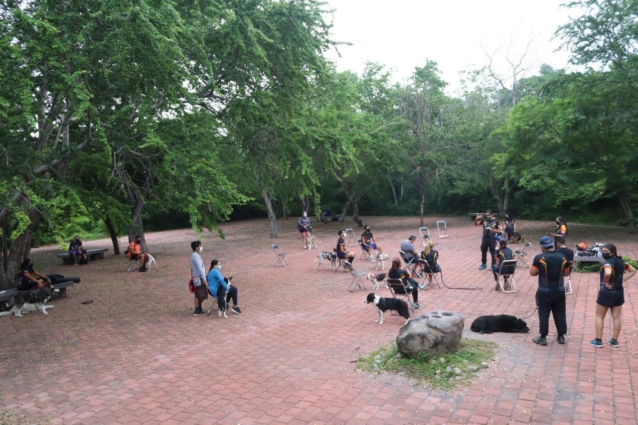 Realizan Foros Caninos en el Parque Ecológico La Campana