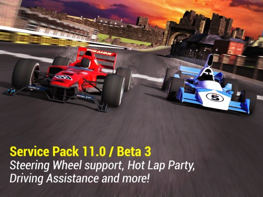 SP 11.0 Beta 3: Steering Wheel support, Hot Lap Party, new Driving Assistance and more!