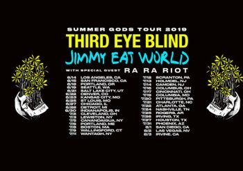 Third Eye Blind And Jimmy Eat World bring the Summer Gods Tour to Artpark July 3; Tickets Still Available