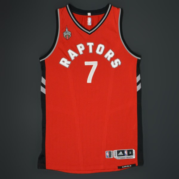 a3c8c25939f Kyle Lowry Raptors Jersey Game Worn - Year of Clean Water