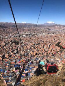La Paz téléphérique