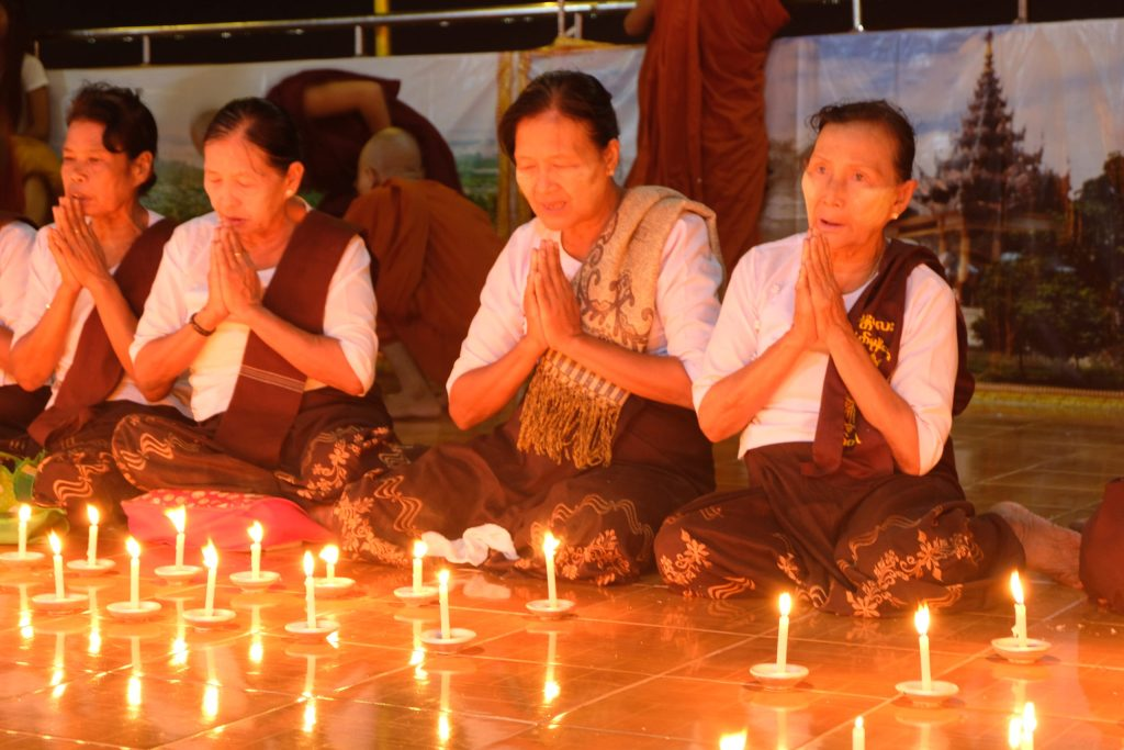 Le festival de Thadingyut au Myanmar