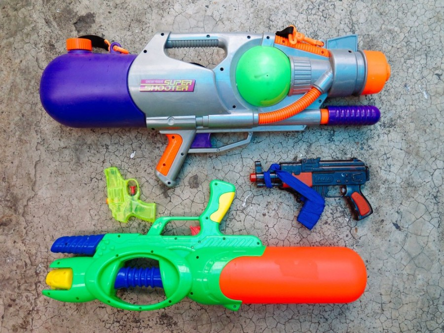 Our weapons of choice
