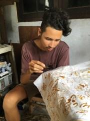 Trying my hand at Batik