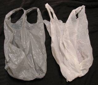 plastic bags in dorm