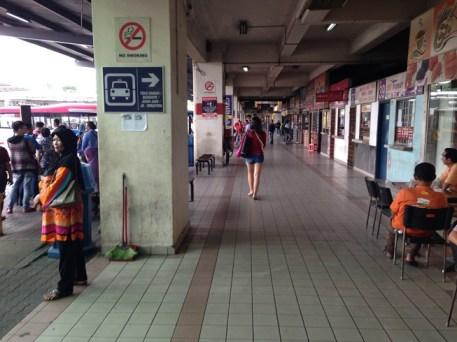 Johor Bharu bus station