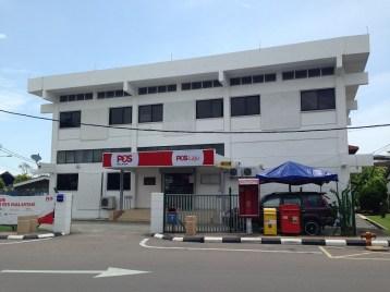 Mersing Malaysia post office