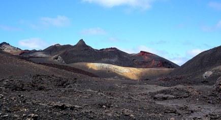 voyage aux Galápagos volcan chico