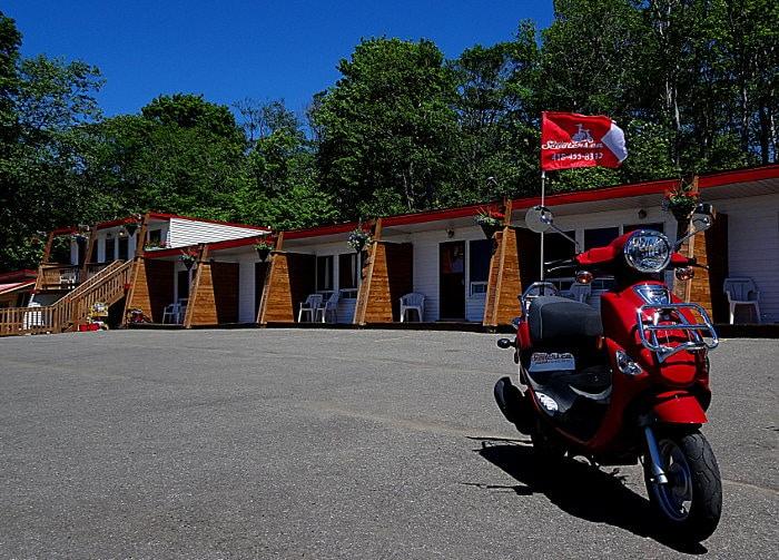 que faire à l'île d'Orléans scooter