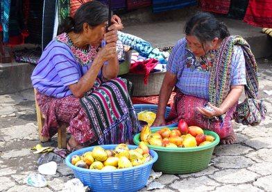lac Atitlán marché Santiago dames