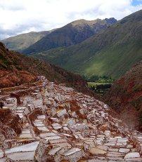 Mine de sel vallée des incas itinéraire de 3 semaines au Pérou