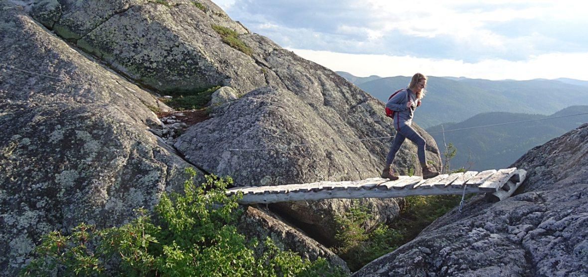 Mont des Morios pont randonnée