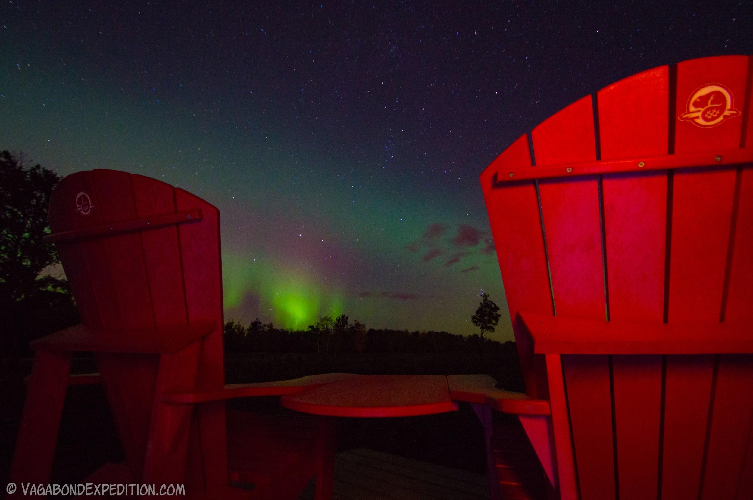 The Night Skies of Elk Island