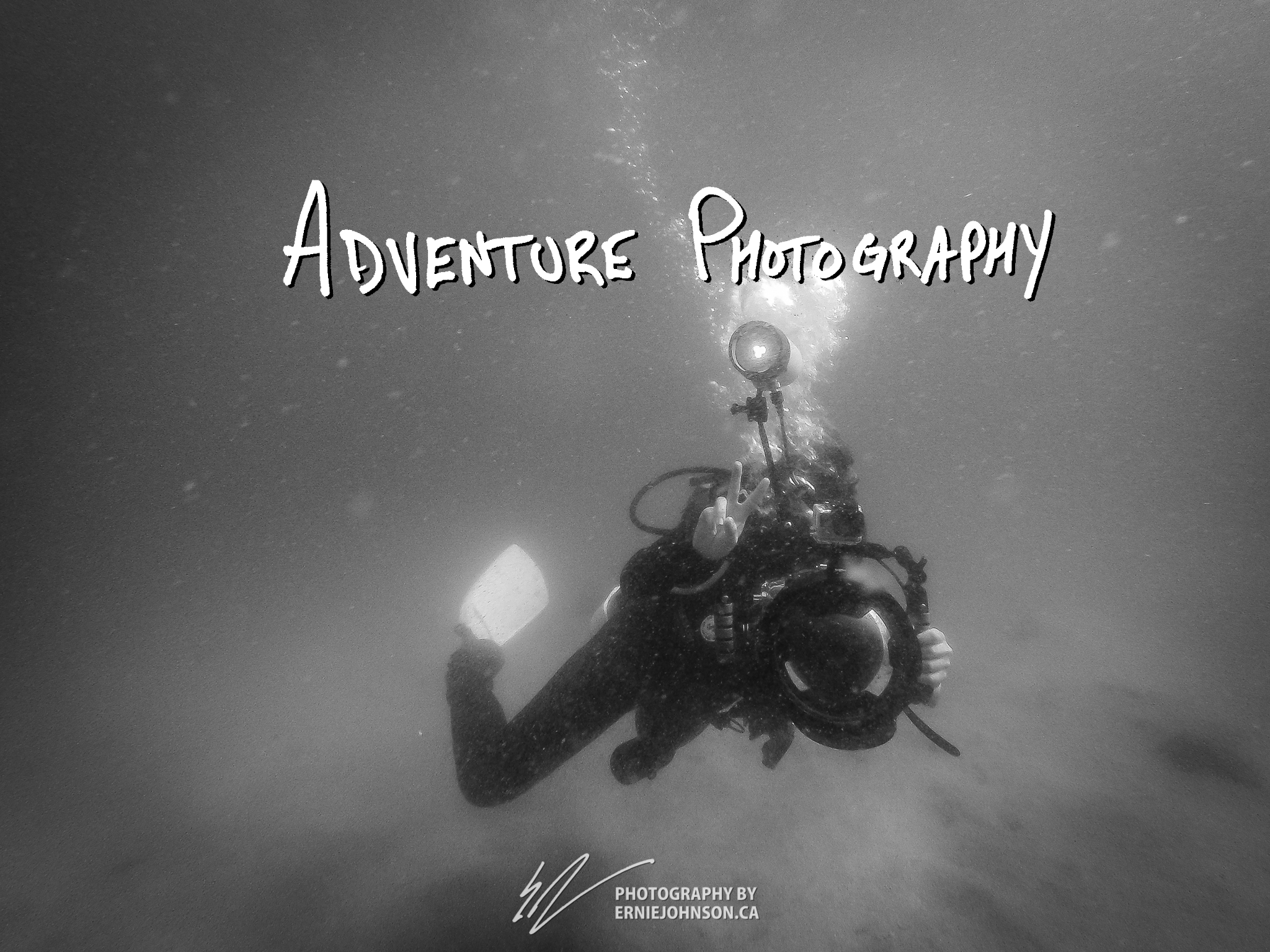 Adventure Photography - underwater in this case