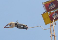My first shot at adventure of Bungee jumping