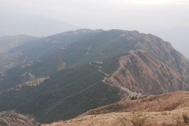 The stretch of road which used to be erstwhile Chakrata-Mussorie highway, constructed during colonial times