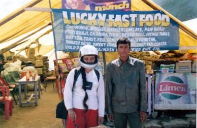 Samaritans of Lucky fast food