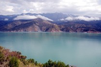This is the actual place where lies buried the Old Tehri town beneath the water