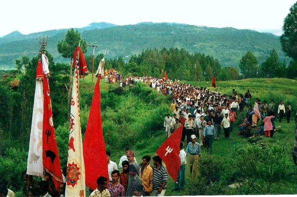 Yatra on the route, File Photo