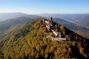 Castle Haut-Koenigsbourg Alsace, France. Photo: CRTA