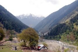 A beautiful view of Naranag valley.