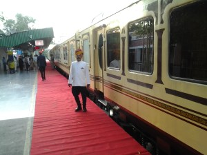 Palace on Wheels ready to move from Delhi