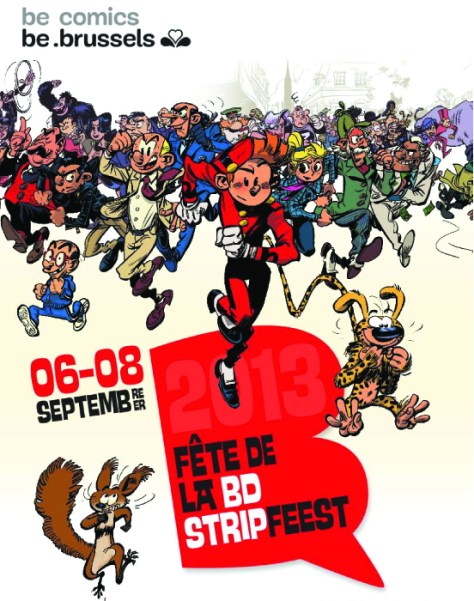 Brussels celebrates comic festival this weekend