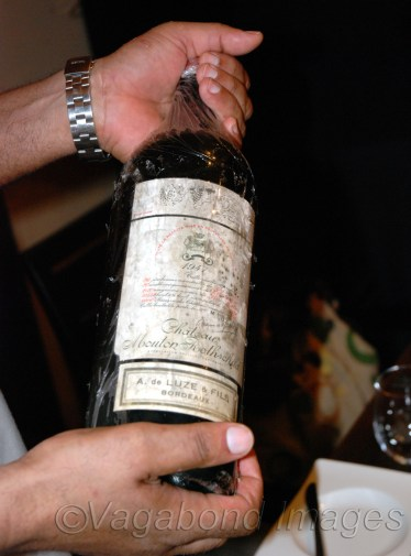 This one too was for a selected few, a very rare wine!