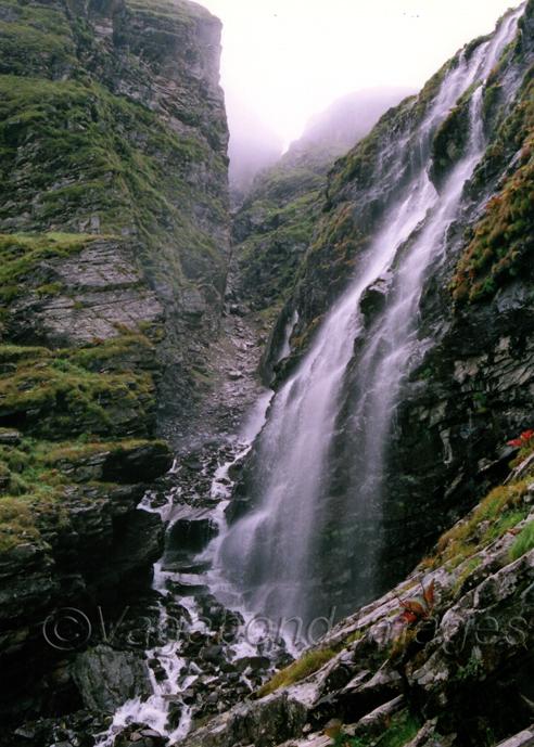 Waterfalls make an amazing view here