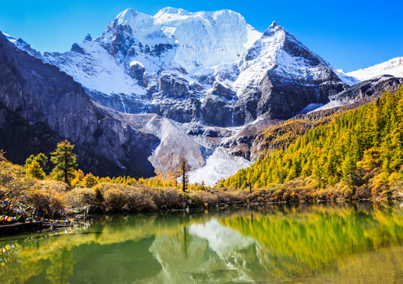 Daocheng Yading is home of Pearl Lake and the Yading Nature Reserve. Photo: DOTWNews