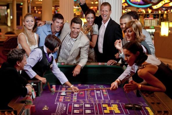 A casino on a celebrity cruise. Photo: Celebrity cruise
