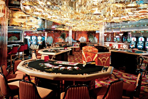 A casino like this will be there on our mobile phone now. Photo: Celebrity cruises
