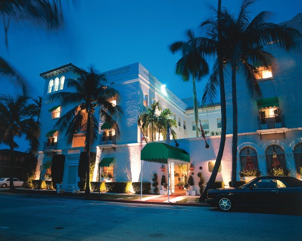 Exterior view of Chesterfield palm beach resort
