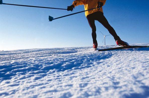 Skiing in Jura
