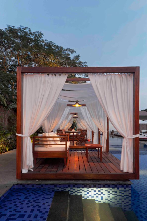 Pool Cabana for party