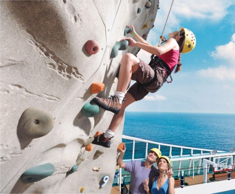 Adventure activities at Mariner of the Seas