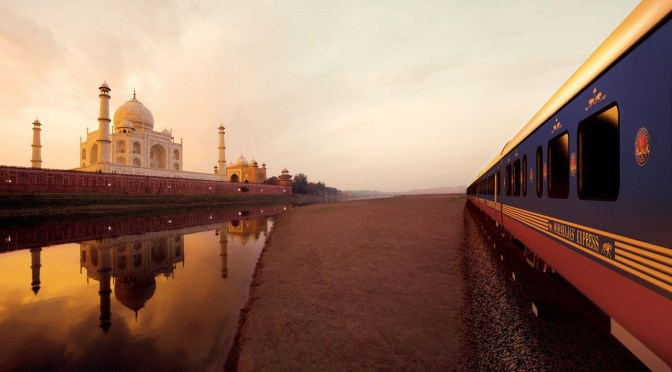World's Leading Luxury Train:Maharajas' Express once again