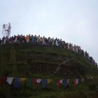 पिघलते सूरज में नए साल का जश्न- हिमालय  की गोद में