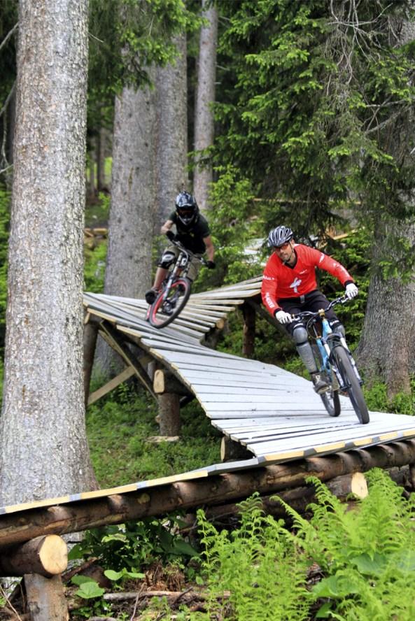 Biking in Davos Klosters