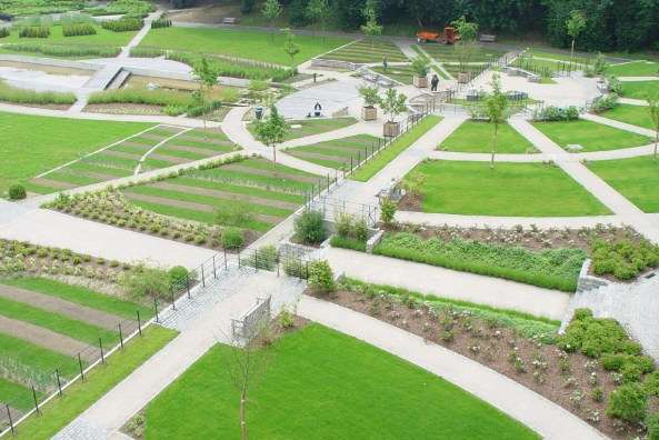 Jardins du Fleuriste _ Tuinen van de Bloemist © Bruxelles Environnement