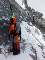 Climbing Everest is no mean job