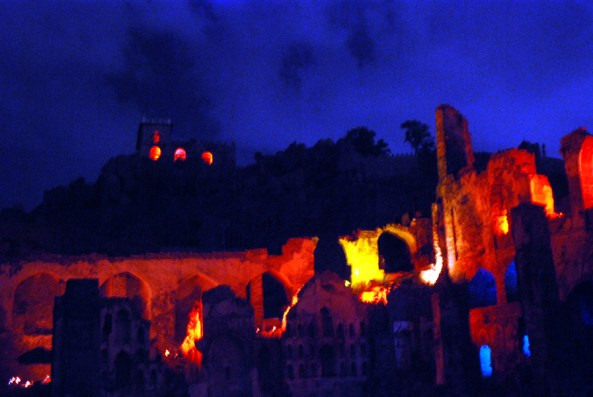 Sound & Light show at Golconda fort