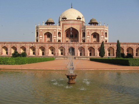 Humayun's Tomb is considered by many as an inspiration to Taj Mahal