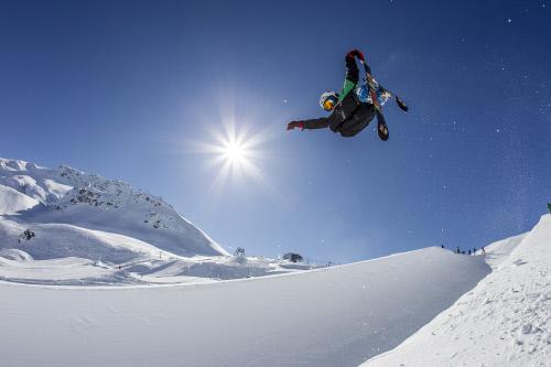ENGADIN St. Moritz: Halfpipe Corvatsch