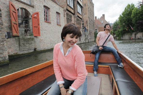 Sushant Singh Rajput and Anushka Sharma at Bruges 1_