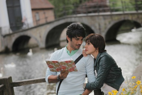 Sushant Singh Rajput and Anushka Sharma at Bruges 2_