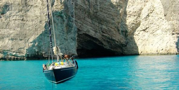 Sailing-in-Zakinthos