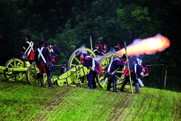 Battle of Waterloo Reenactment. Photo:  J- Franáois Schmitz