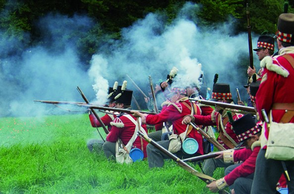 Battle of Waterloo Reenactment - Photo: Phil Thomason